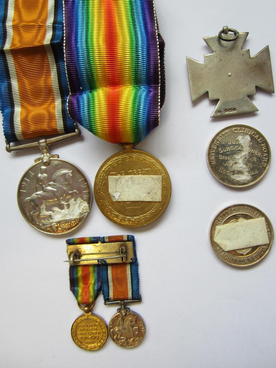 Pair to Surgeon Sub Lieutenant H.Donovan, Royal Naval Volunteer Reserve,