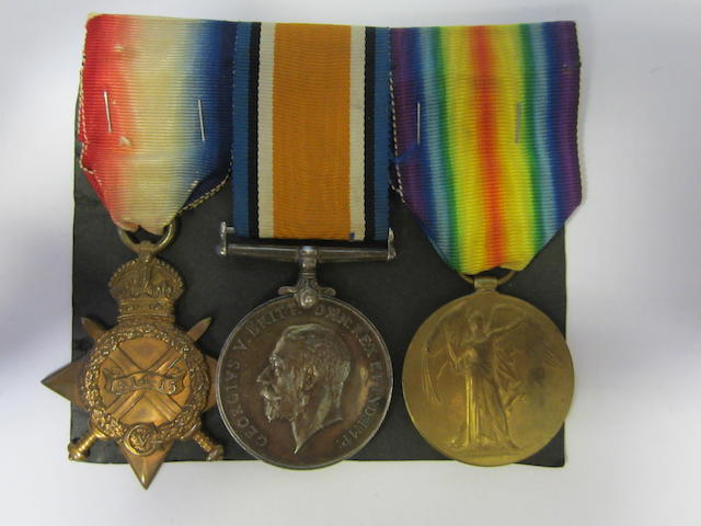 Three to Major J.G.Morrin, Royal Army Medical Corps,