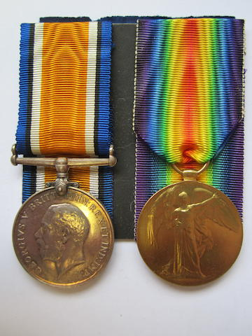 Pair to Surgeon Lieutenant H.S.Bryan, Royal Navy,