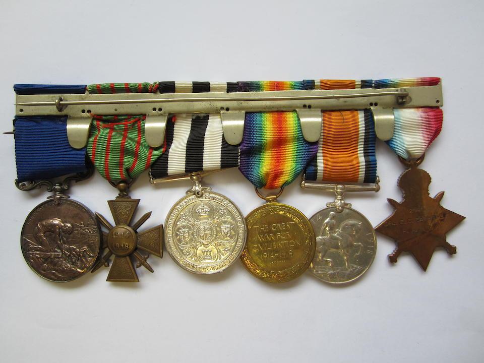 Six to Corporal E.C.Carroll, St.John Ambulance Brigade, late Royal Army Medical Corps,
