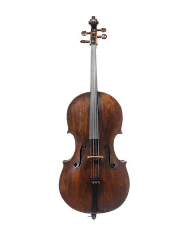 A Viennese Cello of the Thir School circa 1780 (2)