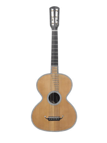 A six string French Guitar by Rene Lacote, Paris, 1829 (1)