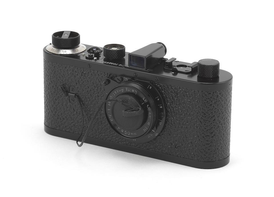 Leica Oskar Barnack model, 2004, Serial No. 3002550,