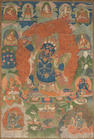 Two Tibetan thangkas
