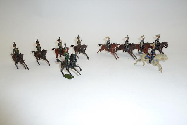 Britains set 106, 6th Dragoon Guards 10