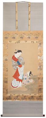 Nishikawa Sukenobu (1671-1750) 18th century