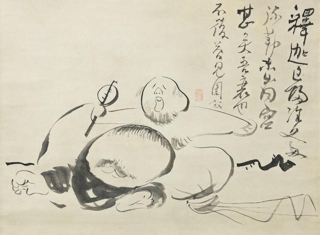 Sengai Gibon (1750-1830) Late 18th/early 19th century