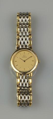 Omega: A lady's De Ville wristwatch