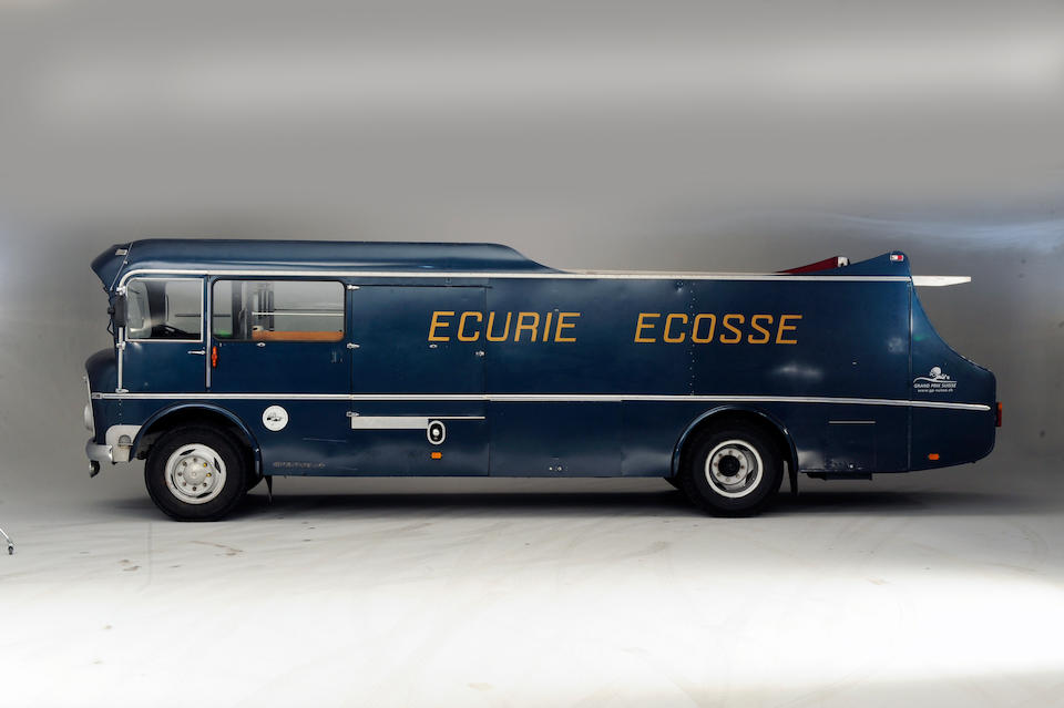 The Ex-Ecurie Ecosse team,1960 Commer TS3 Three-Car Transporter  Chassis no. to be advised Engine no. to be advised
