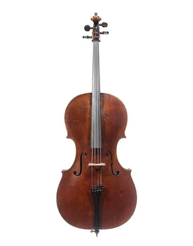 An English Cello by William 'Royal' Forster, London, 1780 (2)