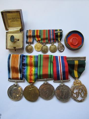 Five to Major L.L'Estrange, South Staffordshire Regiment,