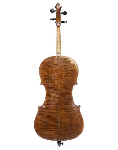 A Neapolitan Cello attributed to Josef and Antonius Gagliano, Naples, (2)
