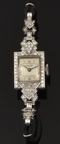 Pamm Frères: A lady's diamond cocktail watch