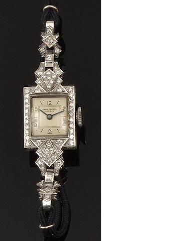 Pamm Frères: A lady's diamond cocktail watch