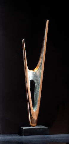 Denis Mitchell (British, 1912-1993) Tolgus 48cm. (18 7/8in) (height, including base)