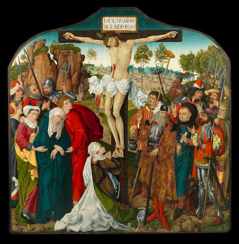 German School, circa 1480 The Crucifixion