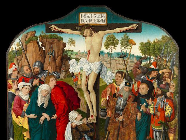 German School, circa 1480 The Crucifixion
