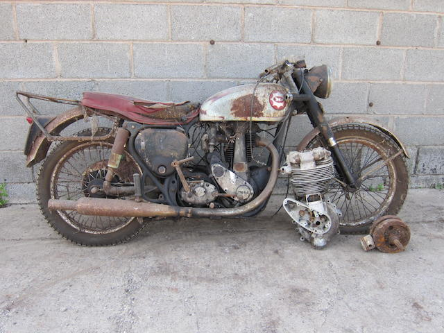 1954 BSA 348cc Gold Star Frame no. CB32 707 Engine no. CB32GS 652 (see text)