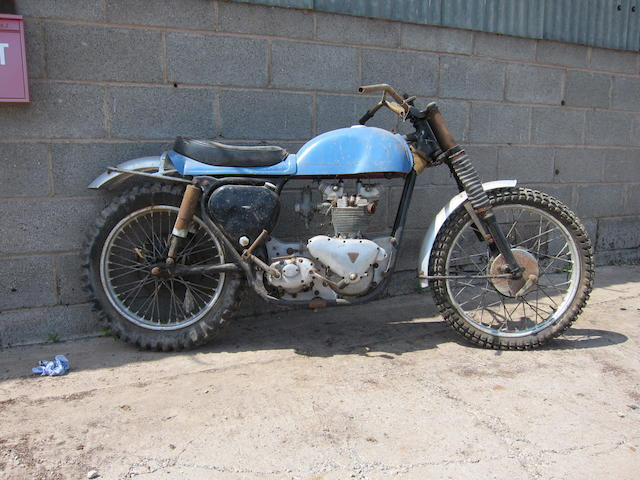 c.1954/55 Tri-BSA 500cc Scrambler Project Frame no. CA7 2338 Engine no. T100 68839
