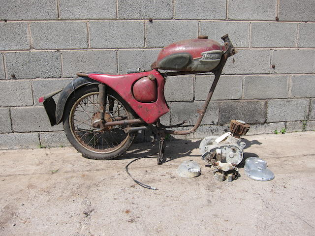 1966 Triumph 200cc Tiger Cub Project Frame no. T20 3378 Engine no. T20 3378
