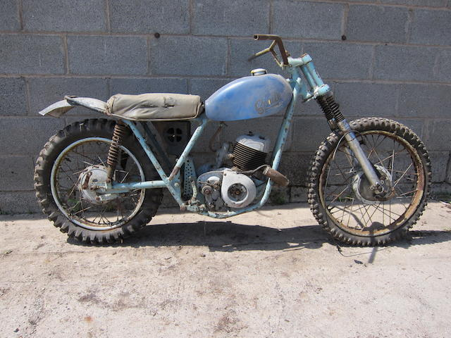 c.1965 Sprite 246cc Scrambler Project Engine no. 284D 2406