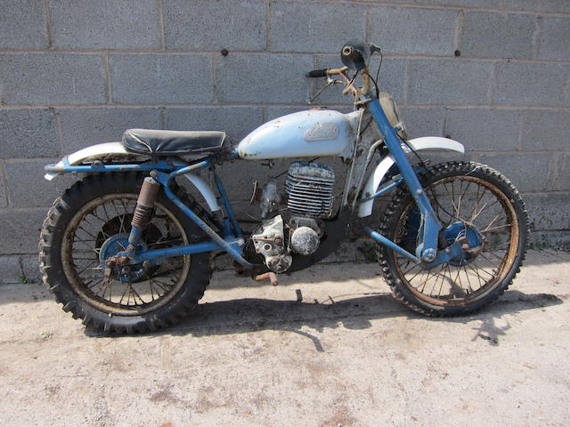 1959 Greeves 246cc 24SAS Hawkstone Scrambler Project Frame no. 59 1292