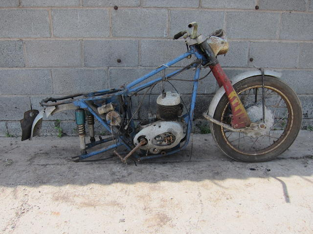 c.1961 Cotton 249cc Continental Project Frame no. 61C34