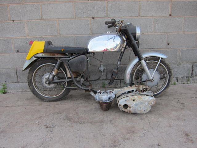 c.1964 Royal Enfield 248cc Crusader Sports Project Engine no. SR 14986