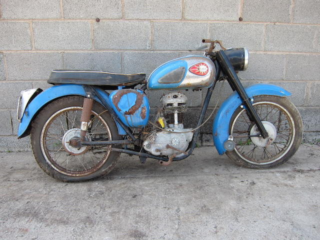 c.1960 BSA 247cc C15 Project Frame no. C15 17990 Engine no. C15 29446