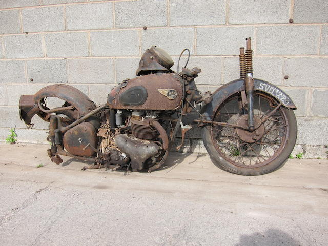 1956 BSA 646cc A10 Project Frame no. BA7S 19340 Engine no. BA10 14965