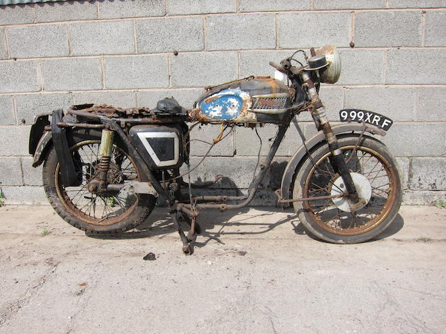 1959 Triumph 490cc 5TA Speed Twin Project Frame no. H9648 Engine no. 5TA H14613