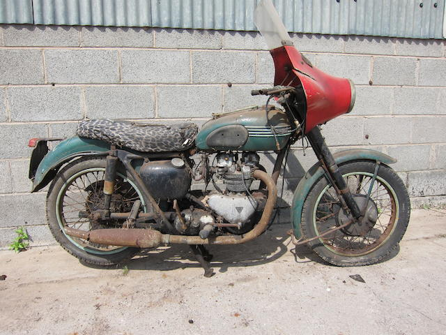 1956 Triumph 498cc Tiger 100 Project Frame no. S80024 Engine no. T100 80024