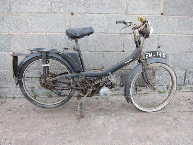 1964 Motobécane Mobylette Moped Frame no. 42124618 Engine no. 4761535