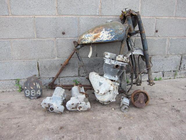 1951 Triumph 499cc TR5 Trophy Project Frame no. 14798NA Engine no. TR5 14798NA