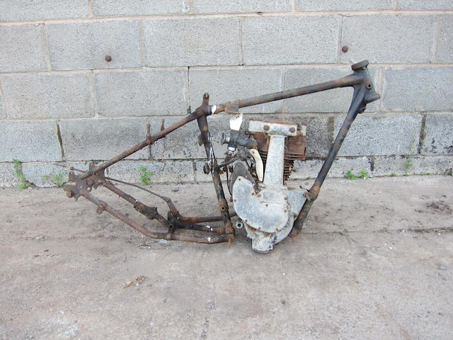 1937 BSA 249cc OHV Sports Model B21 Project Frame no. HB20 7468 Engine no. HB21 2172