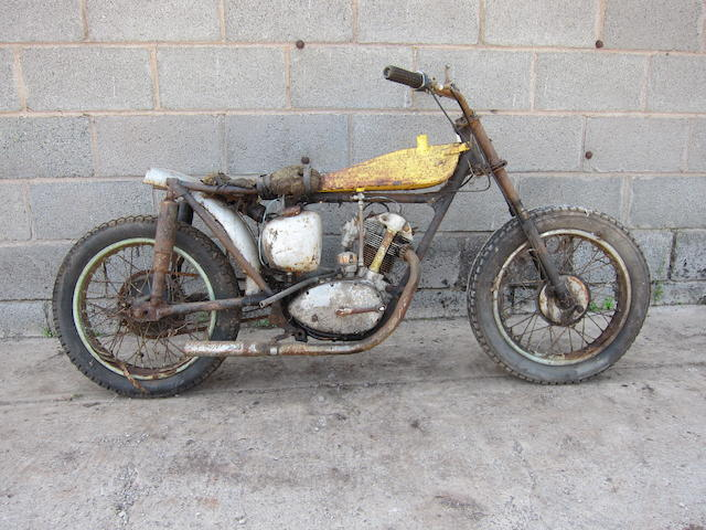 1957 Triumph 200cc Tiger Cub Project Frame no. T 27855 Engine no. T20 27855