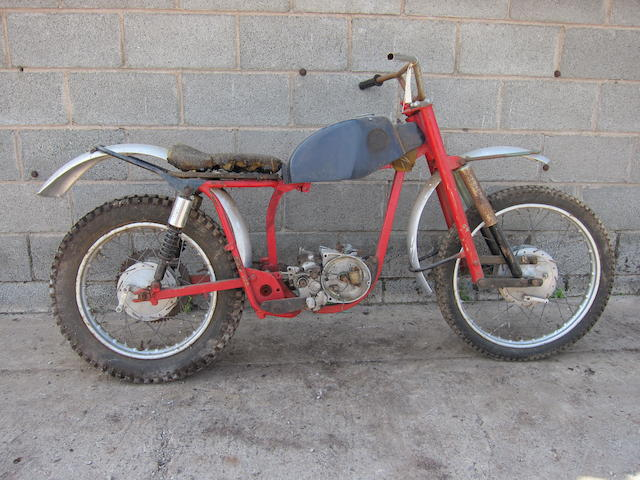 The ex-Ken Sedgely,1964 Dot Works Replica Trials Project Frame no. 6T 0814