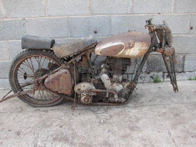 1944 Royal Enfield 346cc Model CO Project Frame no. M20777 Engine no. 20777 (see text)