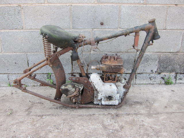c.1942 Royal Enfield 346cc Model C Project Frame no. C17708 Engine no. 12696