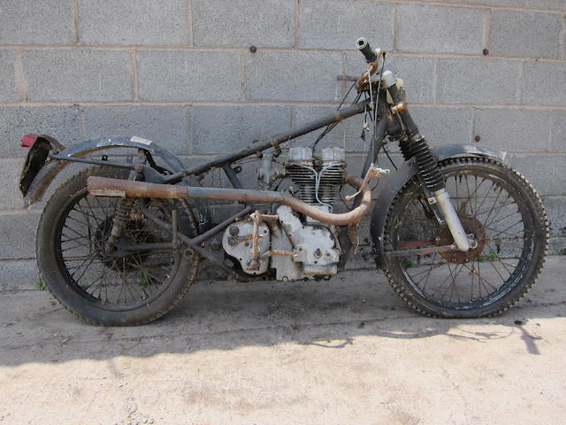 1955 Royal Enfield 346cc Bullet Trials Project Frame no. G2/36857 Engine no. G2/36857