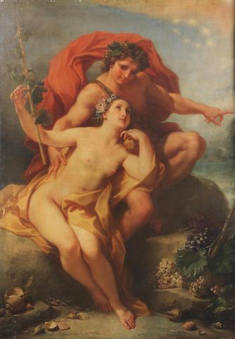 Benedetto Luti (Florence 1644-1724 Rome) Bacchus and Ariadne