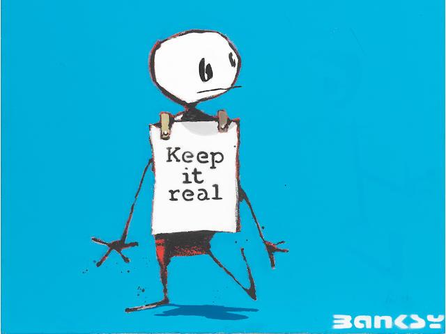 Banksy (b. 1975) Keep It Real