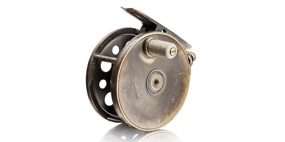 A Hardy The 'Perfect' 1896 brass reel
