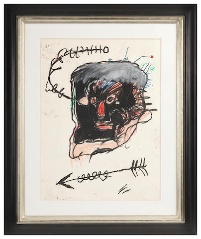 Jean-Michel Basquiat (1960-1988) Untitled  1982
