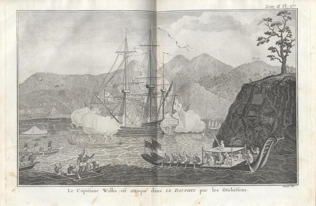 COOK (JAMES) [HAWKESWORTH (JAMES)] Relation des voyages entrepris par ordre de sa Majesté Britannique... pour faire des découvertes dans l'Hemisphère Méridional, vol.1-3 (of 4), Paris, 1774