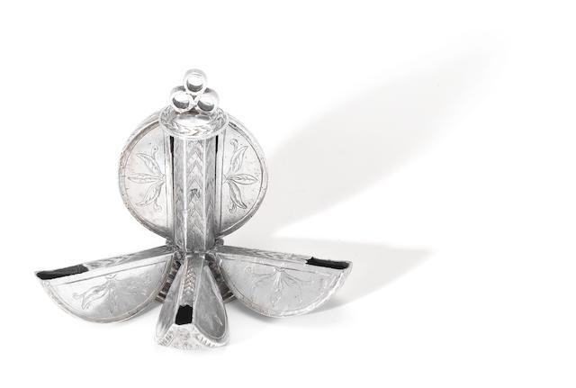 An Elizabethan silver pommander unmarked, circa 1600,