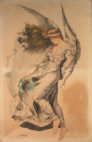 Lionel Osbourne, 'Speed and Beauty', 1914