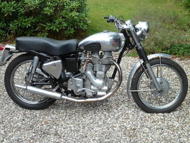 1953 Royal Enfield 500cc Bullet Scrambler Frame no. JS 12808 Engine no. JS 12808