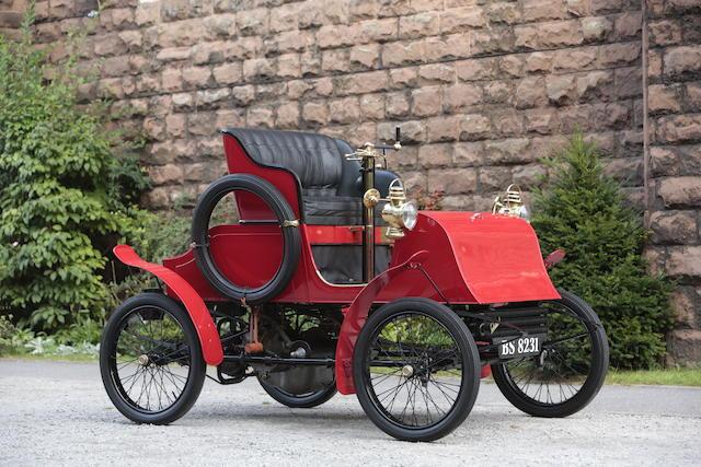 1902 Warwick 6hp Four-seater Stanhope  Engine no. 8460