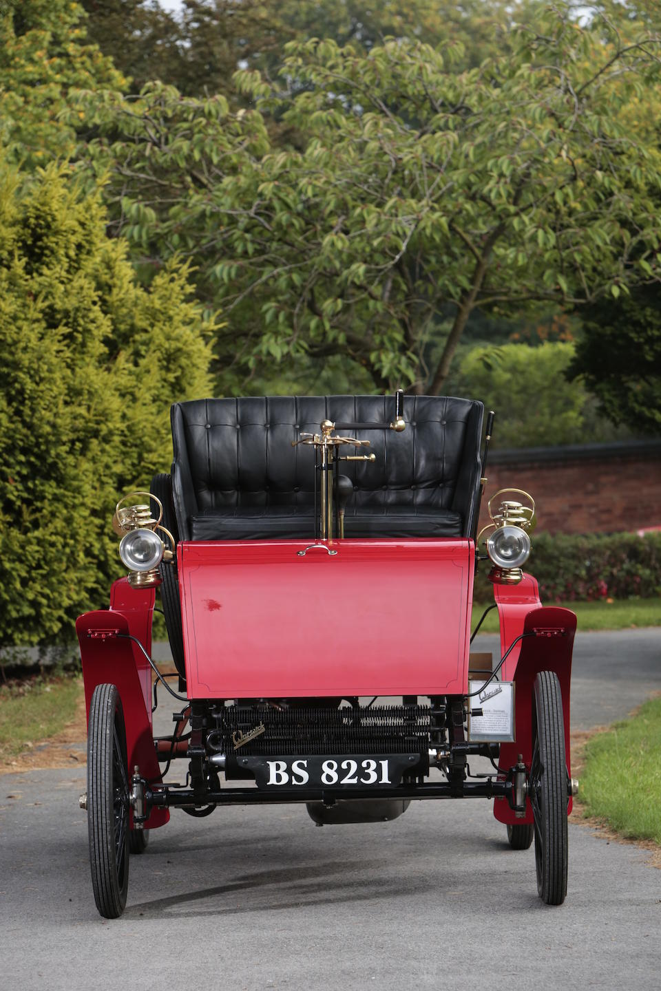 1902 Warwick 6hp Four-seater Stanhope  Engine no. 8460
